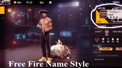 Photo of Free fire name style BD