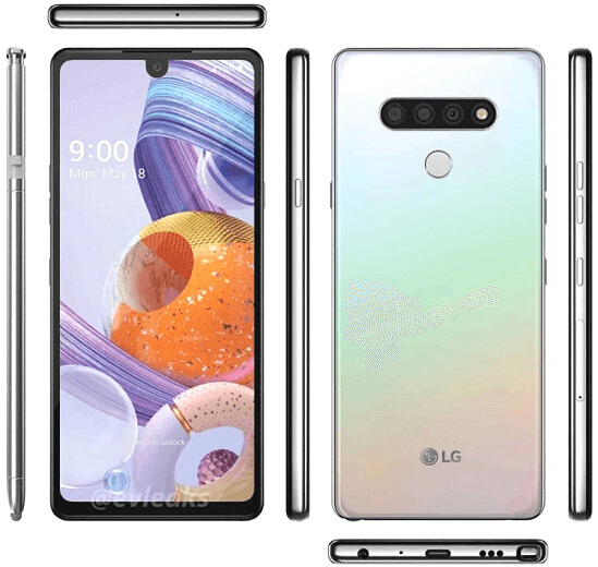 LG Stylo 9 android 12